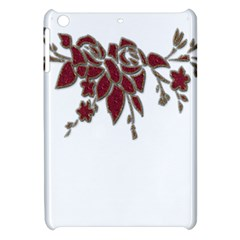Scrapbook Element Nature Flowers Apple Ipad Mini Hardshell Case