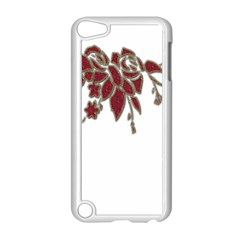 Scrapbook Element Nature Flowers Apple iPod Touch 5 Case (White)