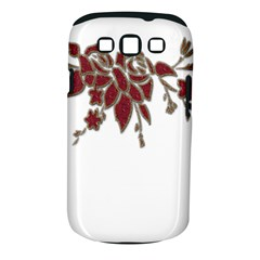 Scrapbook Element Nature Flowers Samsung Galaxy S Iii Classic Hardshell Case (pc+silicone)