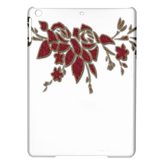 Scrapbook Element Nature Flowers Ipad Air Hardshell Cases