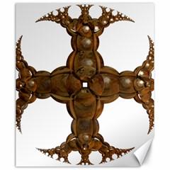 Cross Golden Cross Design 3d Canvas 20  X 24