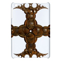 Cross Golden Cross Design 3d Apple Ipad Mini Hardshell Case