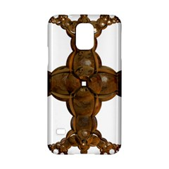 Cross Golden Cross Design 3d Samsung Galaxy S5 Hardshell Case