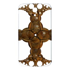 Cross Golden Cross Design 3d Samsung Galaxy Mega I9200 Hardshell Back Case