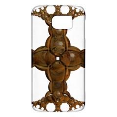 Cross Golden Cross Design 3d Galaxy S6