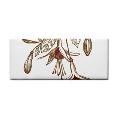 Floral Spray Gold And Red Pretty Cosmetic Storage Cases