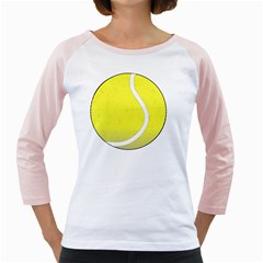 Tennis Ball Ball Sport Fitness Girly Raglans