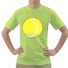 Tennis Ball Ball Sport Fitness Green T Shirt