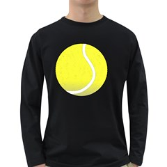 Tennis Ball Ball Sport Fitness Long Sleeve Dark T Shirts