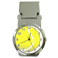 Tennis Ball Ball Sport Fitness Money Clip Watches