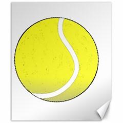 Tennis Ball Ball Sport Fitness Canvas 20  x 24