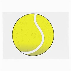 Tennis Ball Ball Sport Fitness Large Glasses Cloth (2 Side)