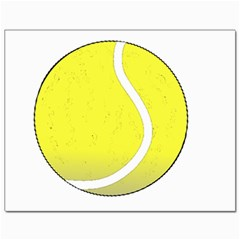 Tennis Ball Ball Sport Fitness Canvas 11  X 14
