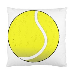 Tennis Ball Ball Sport Fitness Standard Cushion Case (Two Sides)