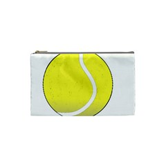 Tennis Ball Ball Sport Fitness Cosmetic Bag (small)