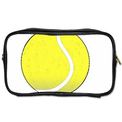 Tennis Ball Ball Sport Fitness Toiletries Bags 2 Side