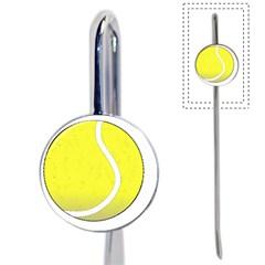 Tennis Ball Ball Sport Fitness Book Mark