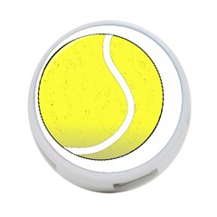 Tennis Ball Ball Sport Fitness 4-Port USB Hub (Two Sides)