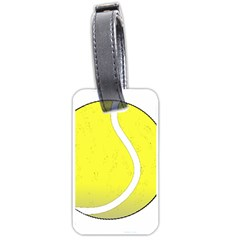 Tennis Ball Ball Sport Fitness Luggage Tags (one Side)