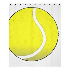 Tennis Ball Ball Sport Fitness Shower Curtain 60  X 72  (medium)