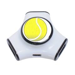 Tennis Ball Ball Sport Fitness 3-Port USB Hub