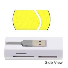 Tennis Ball Ball Sport Fitness Memory Card Reader (stick)