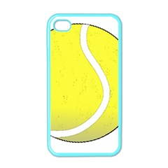 Tennis Ball Ball Sport Fitness Apple iPhone 4 Case (Color)