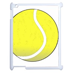 Tennis Ball Ball Sport Fitness Apple Ipad 2 Case (white)