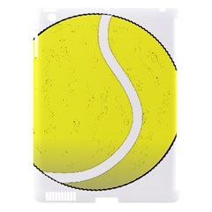 Tennis Ball Ball Sport Fitness Apple iPad 3/4 Hardshell Case (Compatible with Smart Cover)