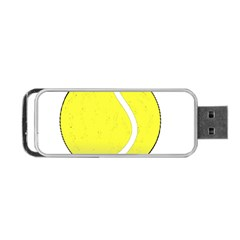 Tennis Ball Ball Sport Fitness Portable USB Flash (One Side)