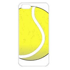 Tennis Ball Ball Sport Fitness Apple iPhone 5 Seamless Case (White)