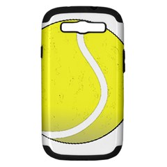 Tennis Ball Ball Sport Fitness Samsung Galaxy S Iii Hardshell Case (pc+silicone)