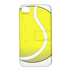 Tennis Ball Ball Sport Fitness Apple iPhone 4/4S Hardshell Case with Stand