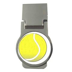 Tennis Ball Ball Sport Fitness Money Clips (round)