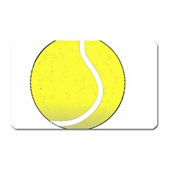 Tennis Ball Ball Sport Fitness Magnet (Rectangular)