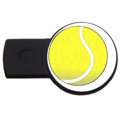 Tennis Ball Ball Sport Fitness Usb Flash Drive Round (2 Gb)