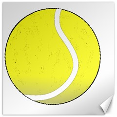 Tennis Ball Ball Sport Fitness Canvas 12  x 12