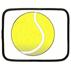 Tennis Ball Ball Sport Fitness Netbook Case (XL)