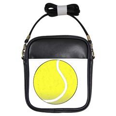 Tennis Ball Ball Sport Fitness Girls Sling Bags