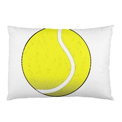 Tennis Ball Ball Sport Fitness Pillow Case (Two Sides)