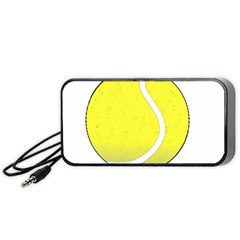 Tennis Ball Ball Sport Fitness Portable Speaker (black)