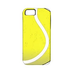 Tennis Ball Ball Sport Fitness Apple Iphone 5 Classic Hardshell Case (pc+silicone)
