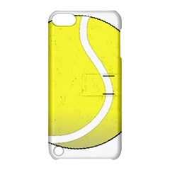 Tennis Ball Ball Sport Fitness Apple iPod Touch 5 Hardshell Case with Stand