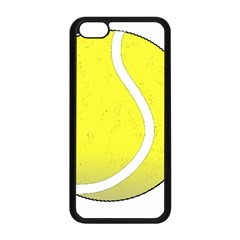 Tennis Ball Ball Sport Fitness Apple Iphone 5c Seamless Case (black)