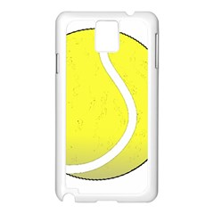 Tennis Ball Ball Sport Fitness Samsung Galaxy Note 3 N9005 Case (white)