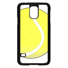 Tennis Ball Ball Sport Fitness Samsung Galaxy S5 Case (black)
