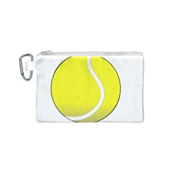 Tennis Ball Ball Sport Fitness Canvas Cosmetic Bag (s)