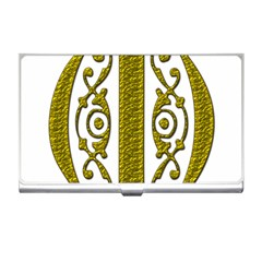 Gold Scroll Design Ornate Ornament Business Card Holders