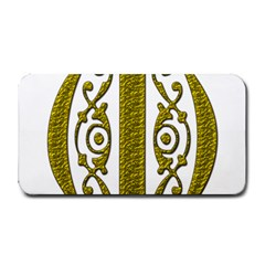 Gold Scroll Design Ornate Ornament Medium Bar Mats
