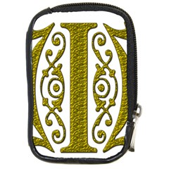 Gold Scroll Design Ornate Ornament Compact Camera Cases